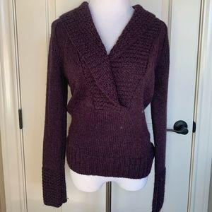 Loft Beautiful Purple Sweater Size S